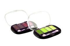 Eye shadow kit Royalty Free Stock Image
