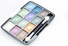 Eye shadow kit Royalty Free Stock Images
