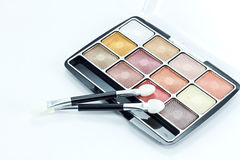 Eye shadow kit Royalty Free Stock Photos