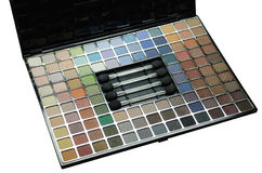 Eye shadow kit Royalty Free Stock Photo