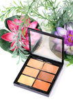 Eye shadow makeup colours Stock Images