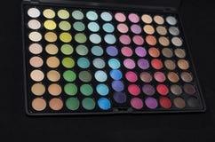 Eye Shadow makeup palette Royalty Free Stock Photo
