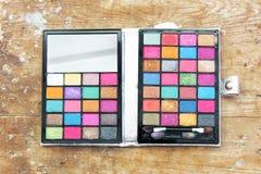 Eye shadow makeup palette Royalty Free Stock Image