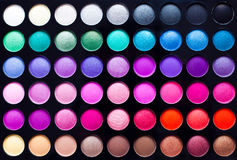 Eye Shadow Palette. On a white background Royalty Free Stock Images