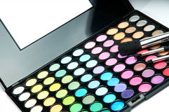Eye shadow palette Royalty Free Stock Photography