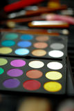 Eye shadow palette Stock Photo
