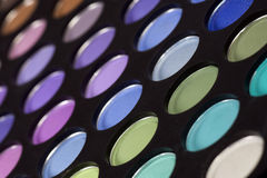 Eye shadow palette Stock Images