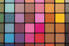 Eye shadow palette Royalty Free Stock Photos