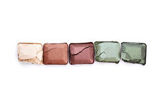 Eye shadow palette Stock Photography