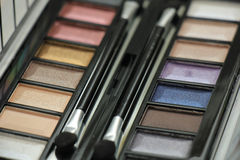 Eye shadow palette Royalty Free Stock Image