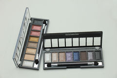 Eye shadow palette Stock Image
