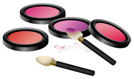 Eye Shadow Set Stock Images