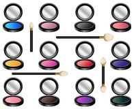 Eye Shadow Set Royalty Free Stock Image