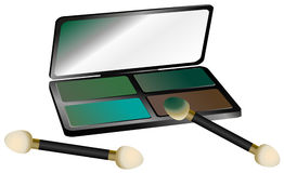 Eye Shadow Set Stock Photo