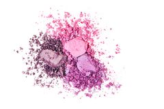 Free Eye Shadow Texture, Pink, Purple And Ultraviolet Colors Royalty Free Stock Image - 125161926