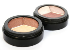 Eye shadows royalty free stock image