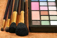 Eye shadows Royalty Free Stock Photo