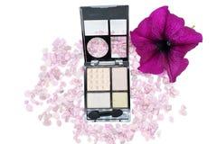 Eye shadows, makeup eye, concept cosmetics Stock Photography