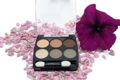 Eye shadows, makeup eye, concept cosmetics Royalty Free Stock Images