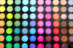 Eye shadows palette Royalty Free Stock Photos