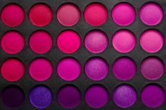 Eye shadows palette Royalty Free Stock Photos
