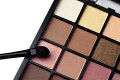 Eye shadows palette Stock Image