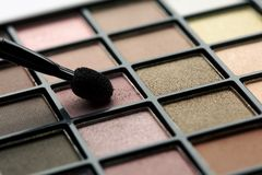 Eye shadows palette Royalty Free Stock Photo