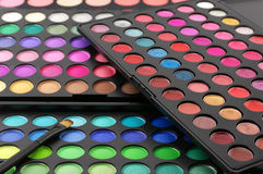 Eye shadows palettes Royalty Free Stock Photo