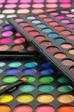 Eye shadows palettes Royalty Free Stock Images