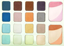 Eye shadows and rouge,Make up professional. Royalty Free Stock Images