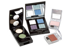 Eye shadows sets Stock Images