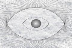 Eye shape vision icon background Royalty Free Stock Image