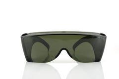 Eye shields over white Royalty Free Stock Photography