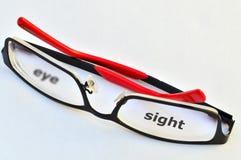 Eye-sight stock image