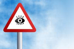Eye sign Royalty Free Stock Images