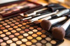 Eye skuggar paletten Fotografering för Bildbyråer