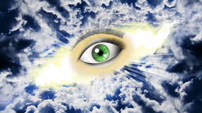 Eye on the sky Stock Photography
