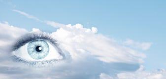 Eye of sky Royalty Free Stock Photos