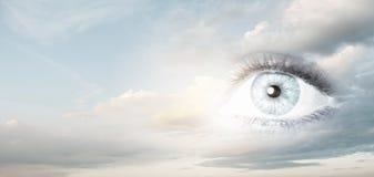 Eye of sky Royalty Free Stock Image