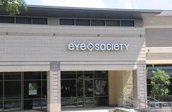 Eye Society Storefront Royalty Free Stock Images