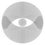 Eye Sphere Royalty Free Stock Photo