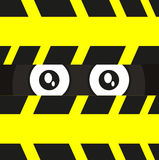 Eye of spy. Illustration of eye spy created by stock illustration