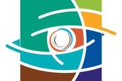 Eye symbol Stock Image