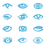 Eye symbol Royalty Free Stock Photo
