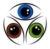 Eye symbol Royalty Free Stock Photography