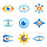 Eye symbols 2 Stock Photo