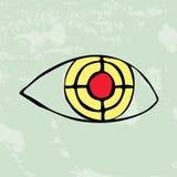 Eye target Stock Image