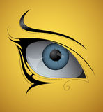 Eye tattoo Stock Photos