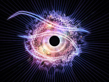 Eye of technology Royalty Free Stock Photo