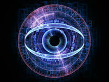 Eye of technology Royalty Free Stock Photography